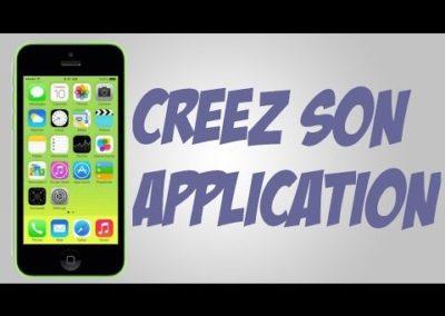 Création d'application