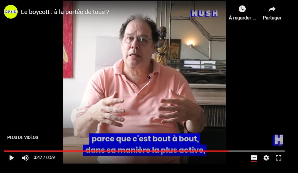 Interview de notre Associé, Robert Vinet pour un article de Saskia Hatier, journaliste chez Hush News.